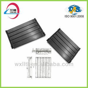 Railway supplies of crane rail clip, rail rubber pad