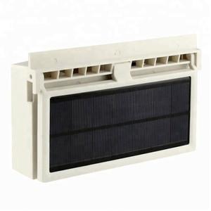 Rechargeable Solar Car Cooler Solar Powered Car Ventilator Fan
