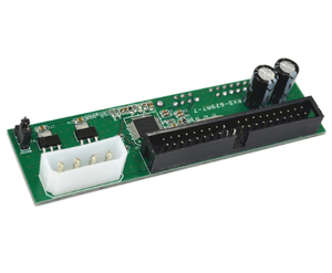 SATA to IDE unidirectional adapter card serial port 7 +15 optical drive / hard drive IDE40 pin