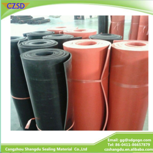 SD Natural Red Rubber Sheet / Red Natural Rubber Sheet, View 6mm rubber sheet