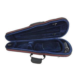 Sinomusik factory price super thin triangle foam violin case in stringed instrument