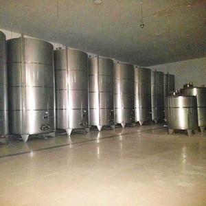 Stock 30m3 stainless steel water storage diesel tank storage chemical industry 10m3 lpg storage tank