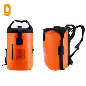 Waterproof backpack,500D PVC Tarpaulin waterproof dry bags,Dry sack keep gear dry from Outdoor camping hiking boating