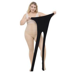 Women Velvet Elastic Stretch Socks High Waist Plus Size Not Afford Ball Anti-hook Tights Stockings Pantyhose
