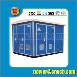 YB-12/0.4kv Series 13KV distribution electrical transformer substation kiosk substation