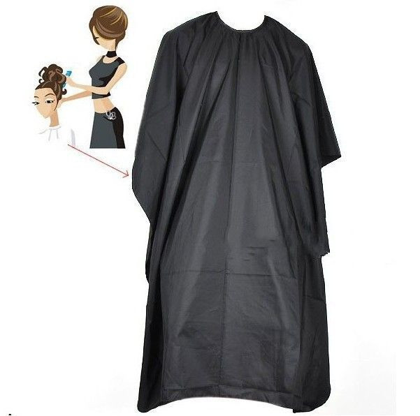 Factory price black Hairdressing Capes hair cutting Barber Disposable Salon Hairdressing Capes