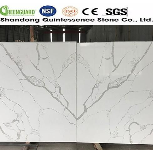 Artificial quartz slab