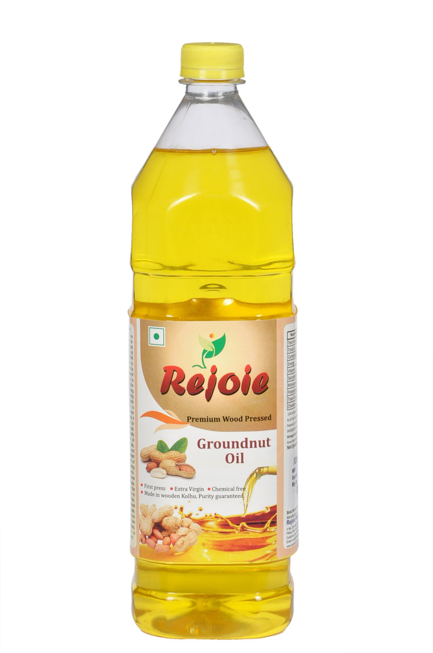 Extra Virgin Cold pressed Groundnut Oil