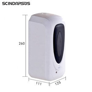 1000ml wall-mounted automatic multi function sensor soap dispenser