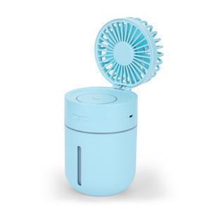 2019 New Release Misting Fan Table Fan Rechargeable Water Spray Humidifier Fan