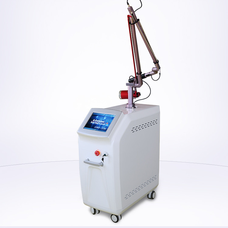 7 joint arms q switch laser pigmentation carbon nd yag laser for tattoo removal