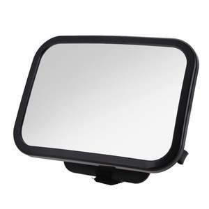 Adjustable Acrylic 360 Degree Baby Car Mirror For Facing Back Seat for Infant Toddler Child in Car Seat
