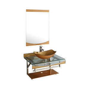 Bathroom Sinks different color and size glass wash basin