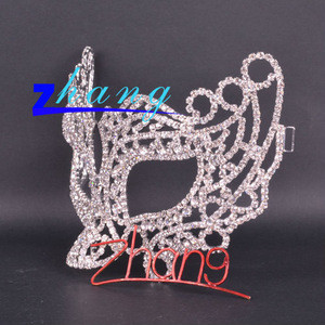 Beauty design diamond masquerade wedding mask