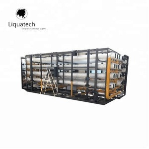 Brackish reverse osmosis water treatment equipment/Desalination RO plant for well water