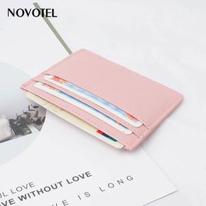 Cardholder Custom Thin Slim Minimalist Leather Front Pocket Credit Card Holder