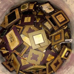 CERAMIC CPU PLASTIC PROCESSORS GOLD SCRAP FOR SALE AT LOW PRICE