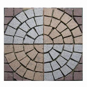 Cheap china paving stone,landscape kerbstone granite block for sale