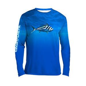 China factory Long sleeve  OEM ODM professional custom fishing shirt fishing wear