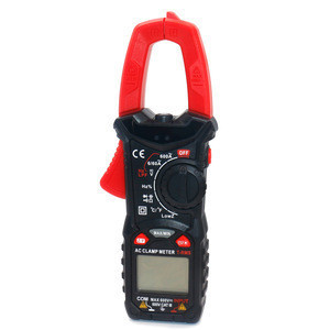 Digital Display Clamp Multimeter Meter True RMS AC/DC Volt Amp Ohm Tester with NCV NF-535