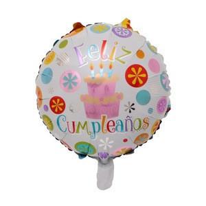 Feliz Cumpleanos Customized Wholesale Helium Aluminum Foil Balloon