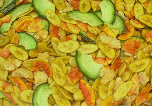 Mixed Fruit Chips - High quality and Best price