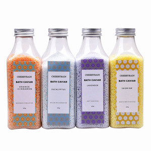 Moisturizing  shinny  color  strong scent  Bath Oil Beads Capsule   For Relaxation  and SPA