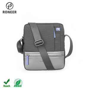 New Style Mini Single Shoulder Bag Small Black Crossbody Messenger Bag Sport Sling bag For Man