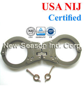 NIJ Approved Police Handcuffs - Twin Hinged