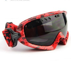 Outdoor Winter Sports Snowboards Skiing Racing Single Lens UV Windshield Adults Goggles Glasses
