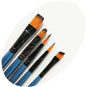 Paint Brush Manufacturers Short Wooden Handle Artist Painting Brush Oil Paint Artist  Brush
