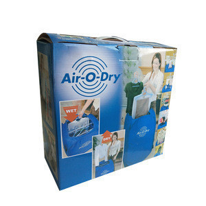 Portable automatic electric clothes dryer