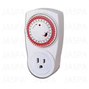 Programmable digital mechanical timer switch 15a 125v