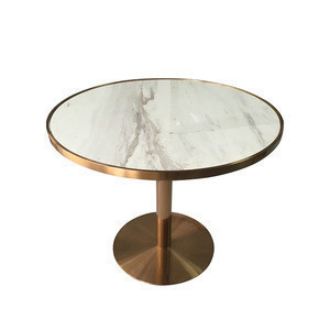 SF007 Luxury table top restaurant round table top
