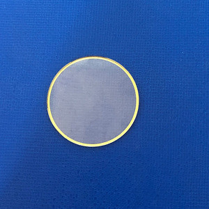 SUPERSEPTEMBER Scratch proof strength Flat Round Sapphire Glass for Wrist Watch Parts
