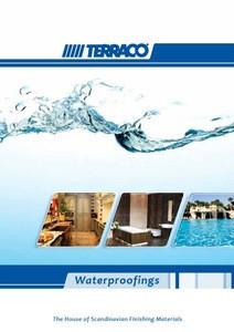 Terraco waterproofing materials - overview