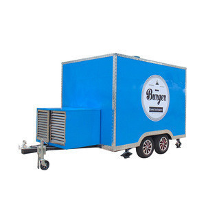 Top quality Ice cream snacks cart food trailers for Australia
