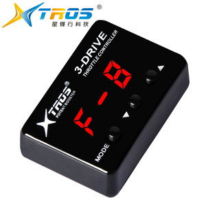 TROS plug and play throttle accelerator, automotive throttle controller potent booster