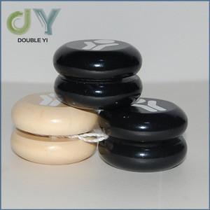 Wholesale Round Shape Wooden professional Toy Yoyo , Classic Wooden YoYo