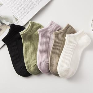 YD01Fashion Custom Design Women  Warm Colorful Knitted Socks Crew Socks Knitting