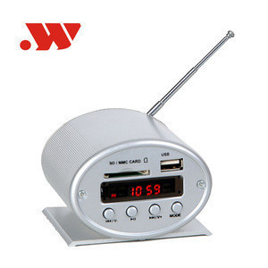 YW-2-A.FM Aluminium alloy car motorcycle mp3 player DC 12V