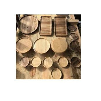 Household Accessories - Wooden Kitchen Cooking - Wholesale Wood Cutting Board Chopping Board, Bowl, Spice Holder, Spoon, Plate,