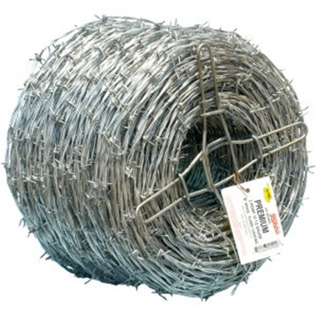 350-400 Meters Galvanised Barbed Wire Price per roll Kenya