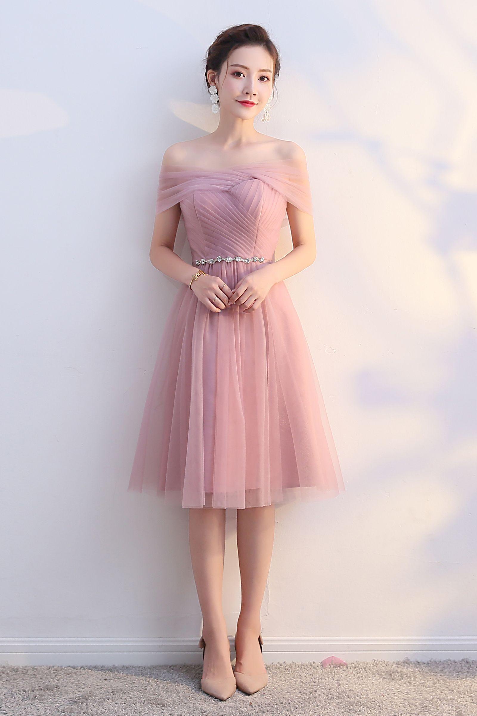 Mini Skirt Evening Dress