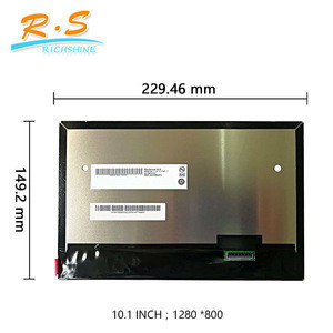 10.1 inch 1280*800 IPS LCD Panel G101EVN01.0 Industrial LED Display