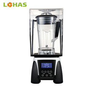 2018 Peak 3HP high efficiency commercial sound proof cover smoothie ice machine top blenders