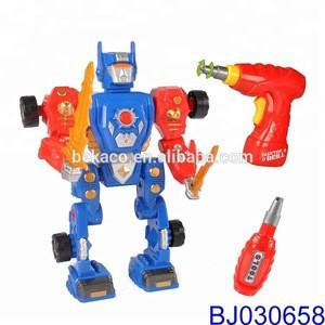 3 in 1 Transforming Dinosaur Toy Gun with Drill Sound Light