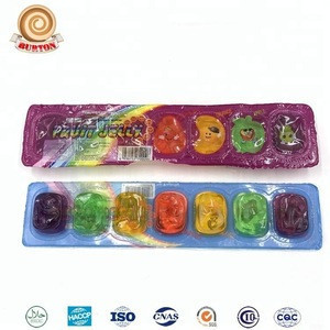 7 in 1 Assorted Fruit Mini Jelly Candy in Bar