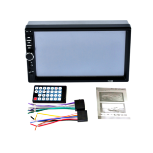 7 inch 2 Din car radio MP5 player with touch screen USB FM