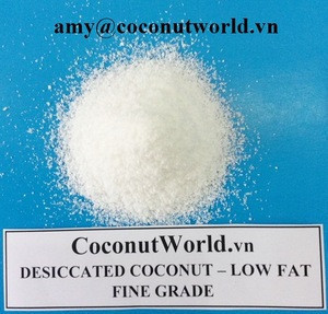 BEST QUALITY AND MOST COMPETITIVE PRICE - LOW FAT DESICCATED COCONUT